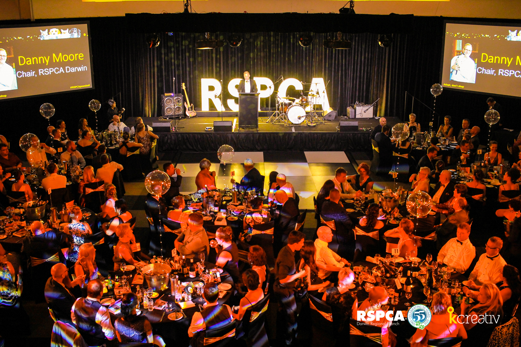 RSPCA SAVE THE PAWS BALL